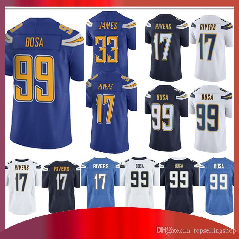 ... 50% off 99 joey bosa los angeles charger jersey 33 derwin james 17  philip rivers ebay mens los angeles chargers joey bosa nike powder blue ... 033b6b842
