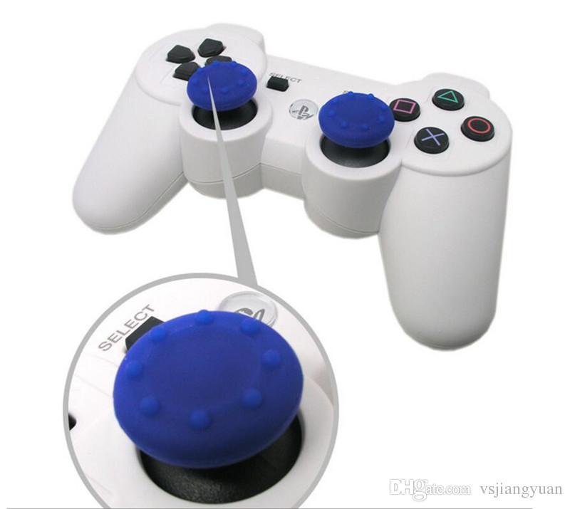 Tapa de puntas de los dedos de silicona Soft Skid-Proof Tapas de palanca de pulgar Tapas de joystick Cubierta de agarres para PS3 PS4 Controladores XBOX ONE XBOX 360