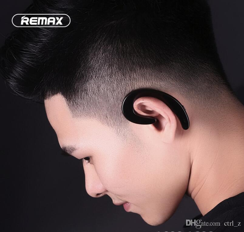 Original Remax RB-T20 Bluetooth 4.1 Ear Hook mobile phone universal wireless for IPHONE X smart phones RB-T20