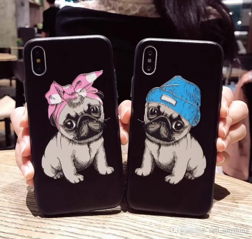coque iphone 8 chiot