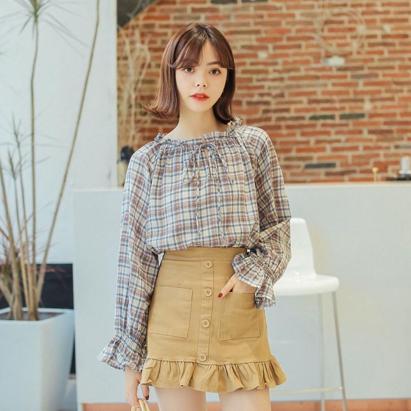 Japonesa Compre De Vintage Mujer Camisas Ladies Ulzzang Kawaii aIqF6