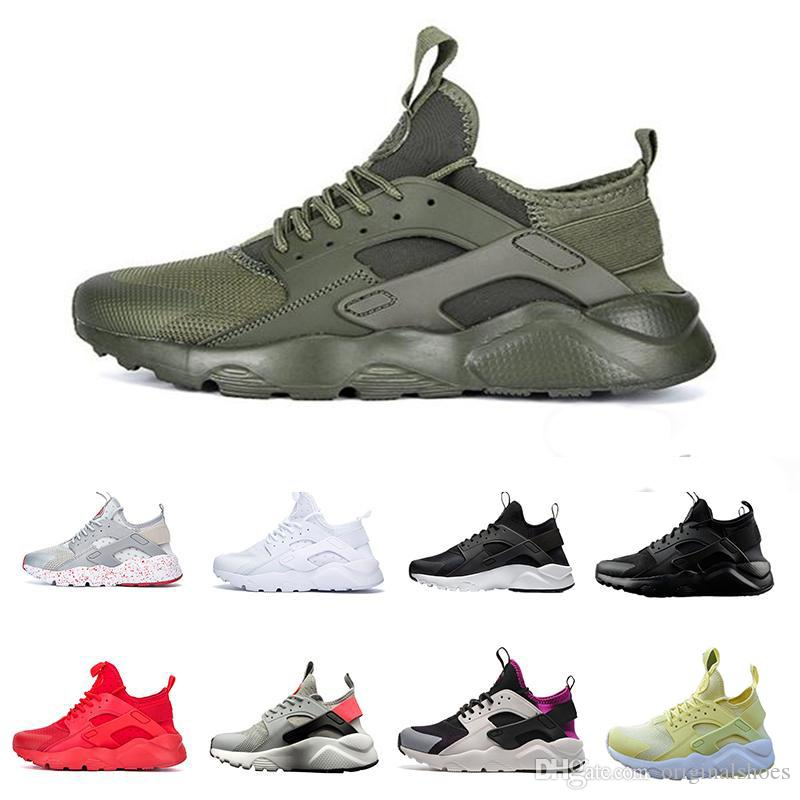 4e0dd3983f62 Air Huarache 4 IV Ultra Running Shoes For Men Women Fashion Popular Trainers  Shoes Huraches Sneakers Size 36 46 Cheap Shoes Men Running Shoes From ...