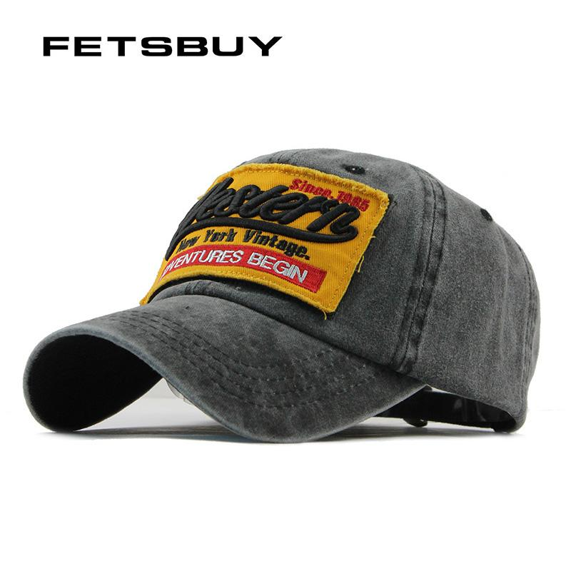 9e91cdadd9f FETSBUY Fashion Men s Baseball Cap With Pattern Fitted Cap Snapback Hat Men  Gorras Casual Casquette Embroidery Letter F115 Ball Caps Fitted Caps From  ...