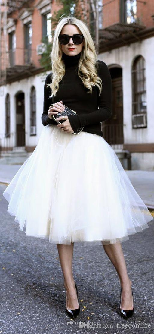 Popular Soft Tulle Cheap Tutu Skirts for Girls 2018 Tutu Dress Women Sexy Party Dress Bridesmaid Dress Adult Tutus Short Skirt