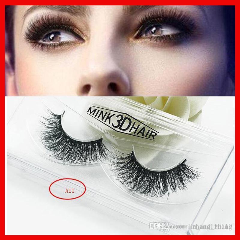 e0e2e7071da 18styles 3D Mink False Eyelashes Makeup 100% Real Mink Natural Thick False  Fake Eyelashes Eye Lashes Women Eyelash Extensions Before And After Eyelash  ...