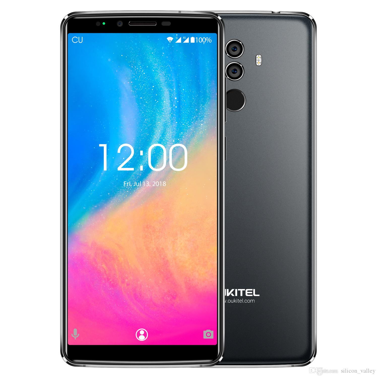Original OUKITEL K8 Smartphone 4GB RAM 64GB ROM 6 0inch Octacore Android 8 0 Cellphone with FaceID Big Battery 5000mah Mobile Phone OUKITEL K8 line with