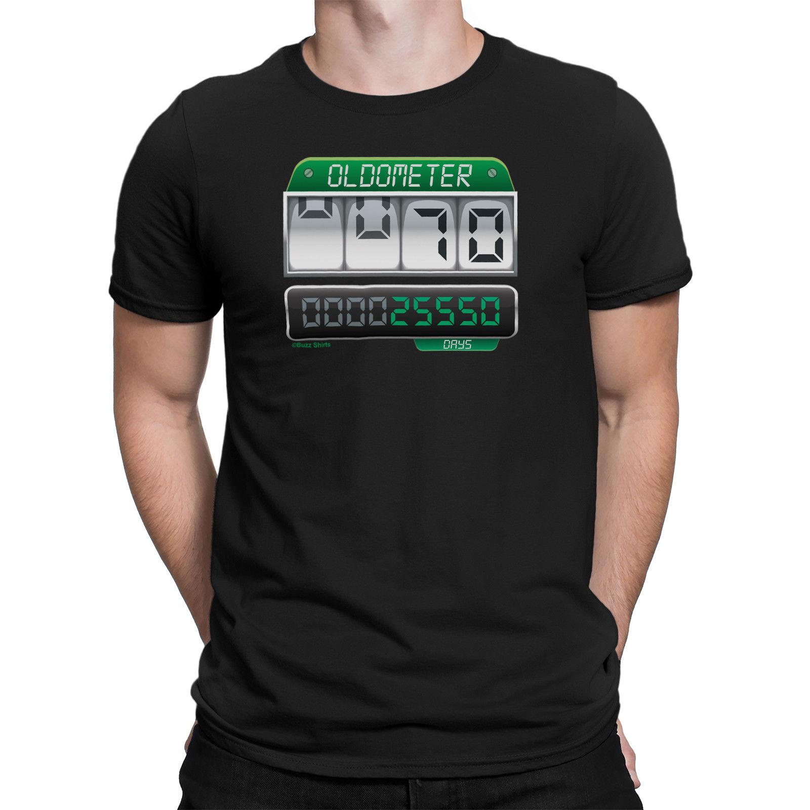 a7850a986b9 Compre Camiseta Para Hombre 70th BADTHDAY OLDOMETER 70 Años Old Joke Gift  Seventy A  11.67 Del Caisemao02