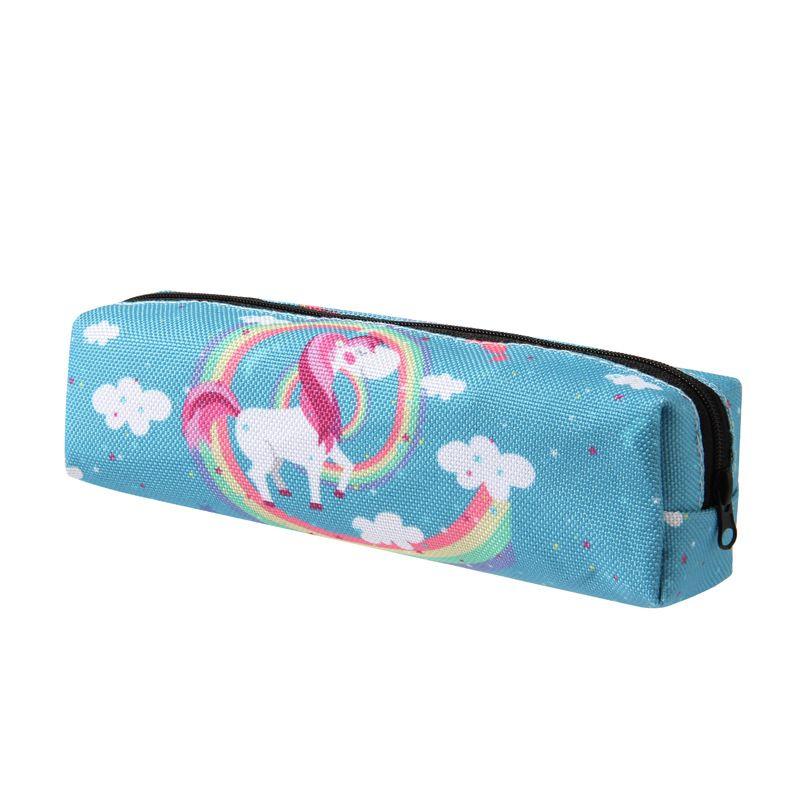 Bolsas de unicornios Flamingo Cosmetics Birthday Copper Creme Shadow Lip Kit Maquillaje Bolsa de almacenamiento para mujeres Chica
