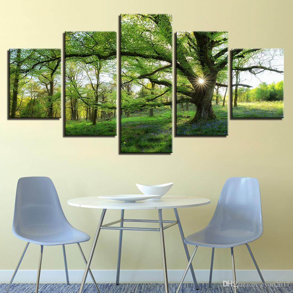 Großhandel Bilder Home Decoration HD Gedruckte Gemälde Modulare ...