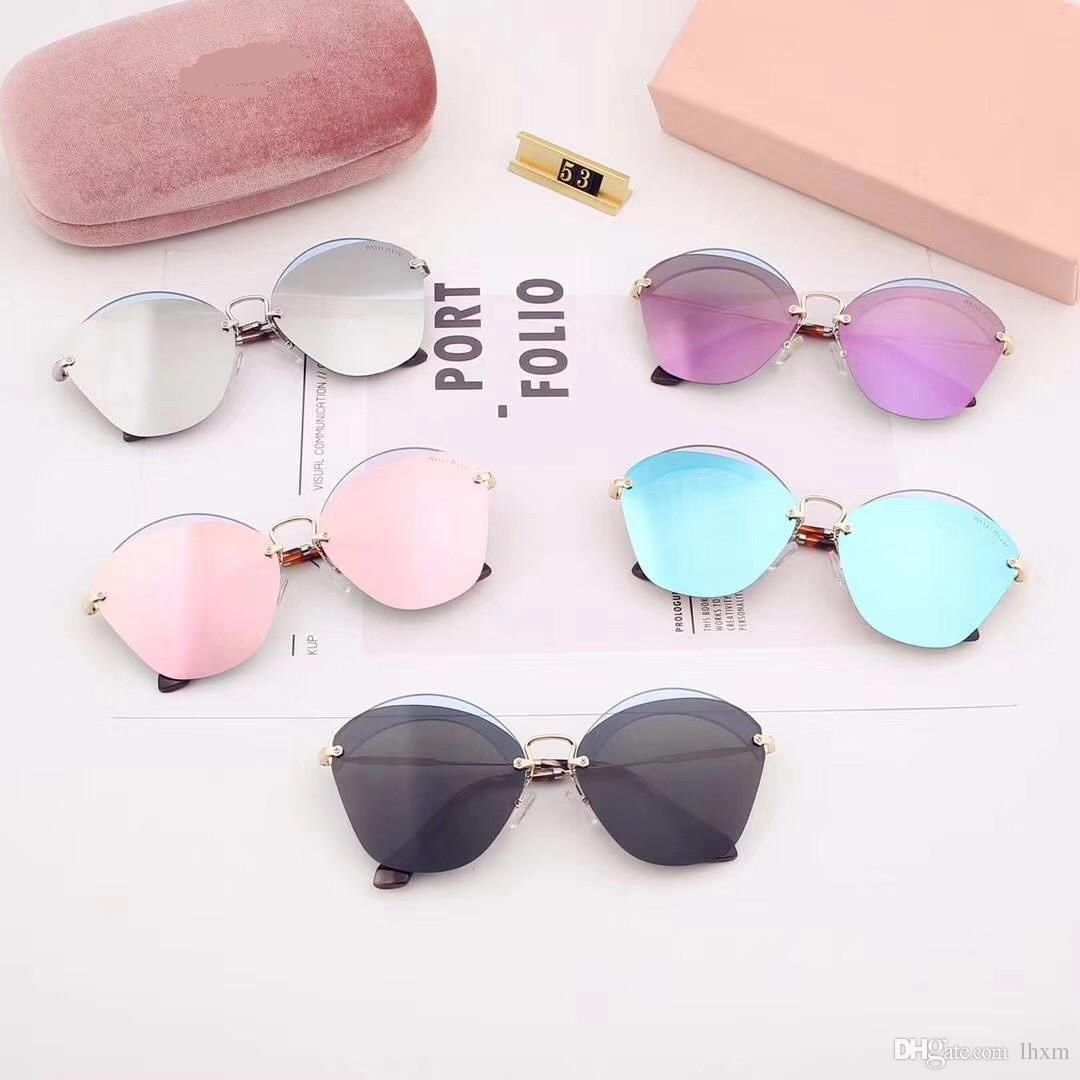 f1bda69ffc Women S Polarizing Film Sunglasses Polaroid High Definition Polarizing Lens  Rimless Fashion Trend 53 Sunglasses At Night Lyrics Glasses For Men From  Lhxm