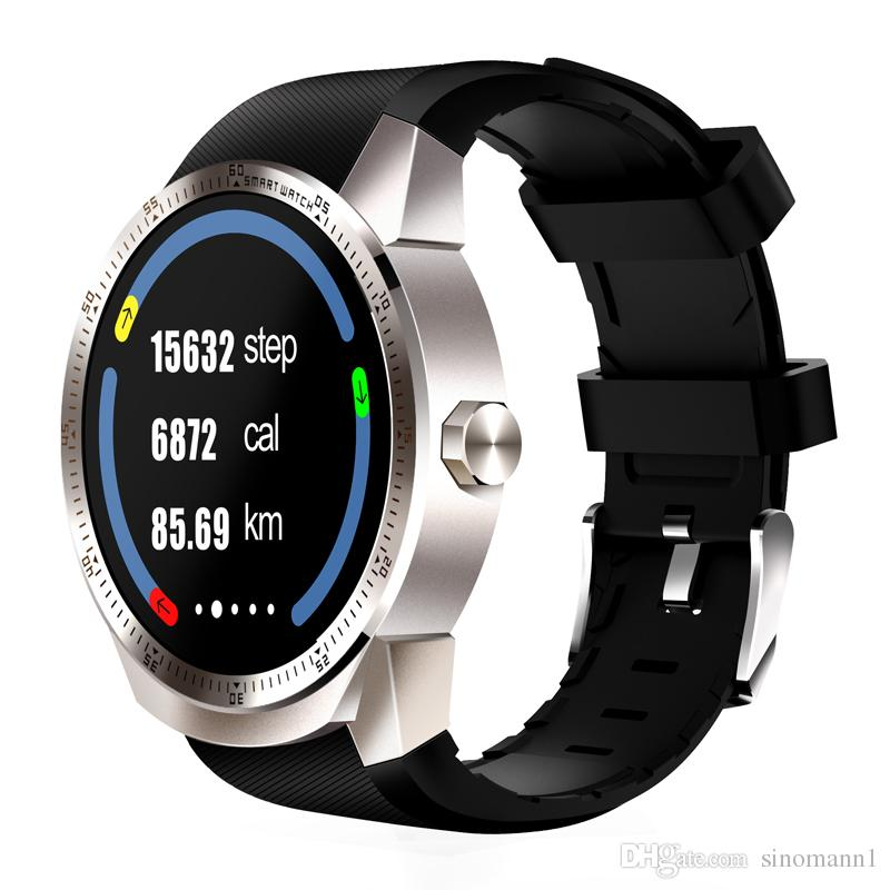 "K98H Smart Watch Android 4.4 OS 1.3"" IPS Screen 3G SIM WiFi Smartwatch MT6572A Dual core GPS Fitness Tracker Wristwatch"