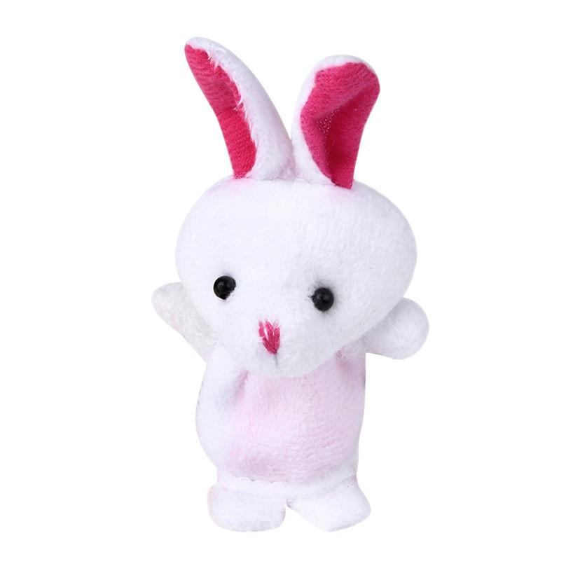 Hot Sale Animal Finger Puppet Plush Child Baby Early Education Toys Gift