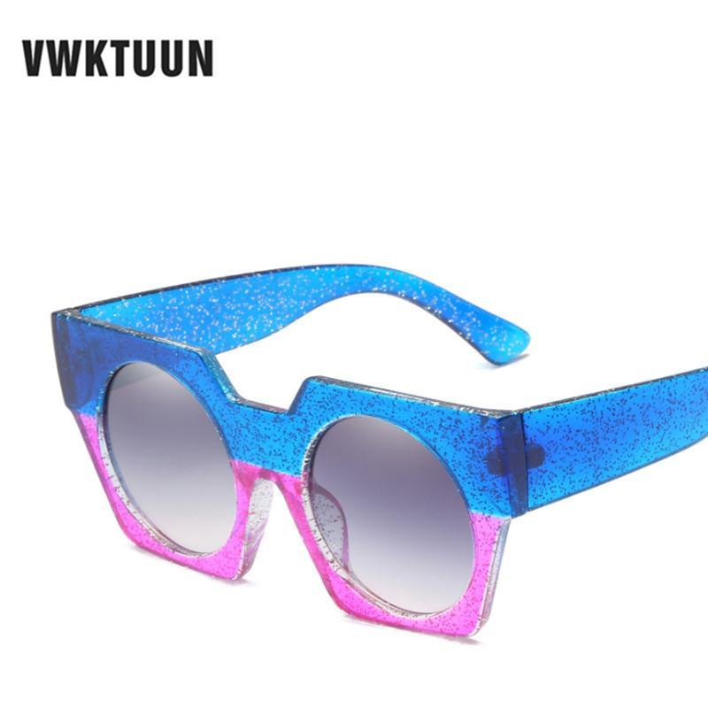 8806d9d649 Compre VWKTUUN Gafas De Sol Cuadradas Retro Gafas De Sol De Diseñador De  Marco Retro Para Mujer Nuevas Gafas De Sol De Gran Tamaño De Verano UV400  Oculos A ...