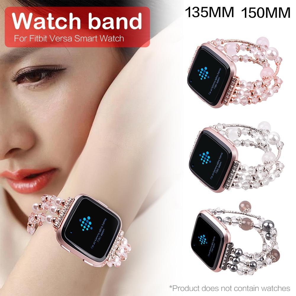 Replacement Smartwatch Band Wristband Wrist Strap For Fitbit Versa Smart  Watch Beautiful Jewelry Straps Women Wristband Online with  29.17 Piece on  ... 6b8466a27c2