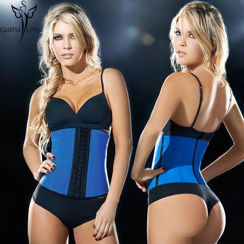 minceur gaine ventre latex taille formateur fajas mince ceinture shapewear gaines shapers pour les femmes fesses perte de poids gilet corset