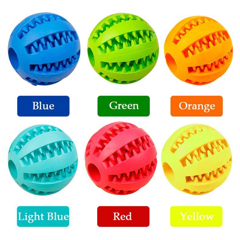 Gesunder Zahn-Reinigungs-Ball-Lebensmittel-Festlichkeits-Zufuhr-Haustier-Naturkautschuk-zahnmedizinisches Festlichkeits-Mund-Spielzeug, das Spielzeug für Hunde-Gesundheitspflege kaut