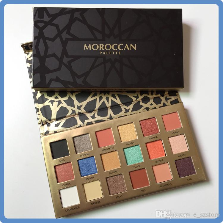 High Quality Makeup Eyes Matte Shimmer Moroccan Eyeshadow Palette