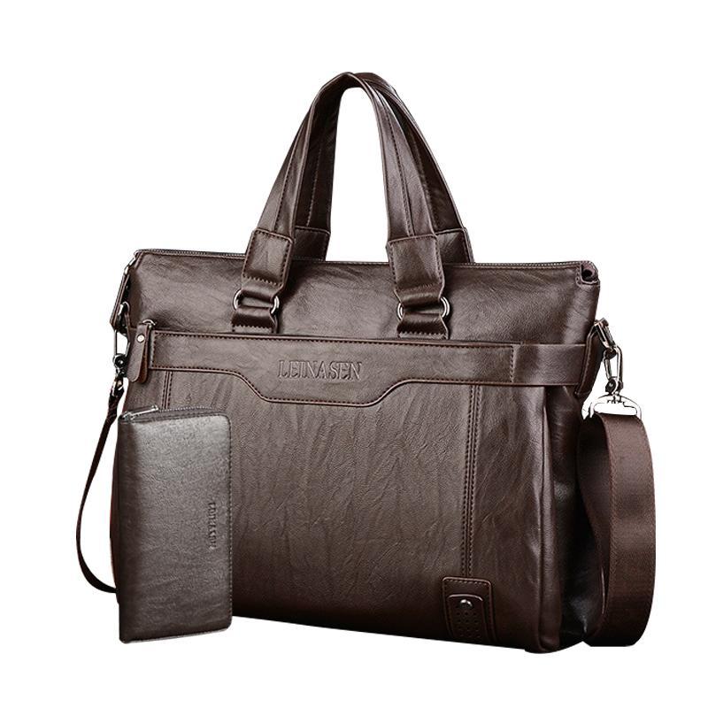 c78691376116 Business Briefcase Diagonal Bag Men Bag Letter Handbag Computer Briefcase  Men S Shoulder Shoulder Bags For Men Mens Leather Briefcase From Fenxin