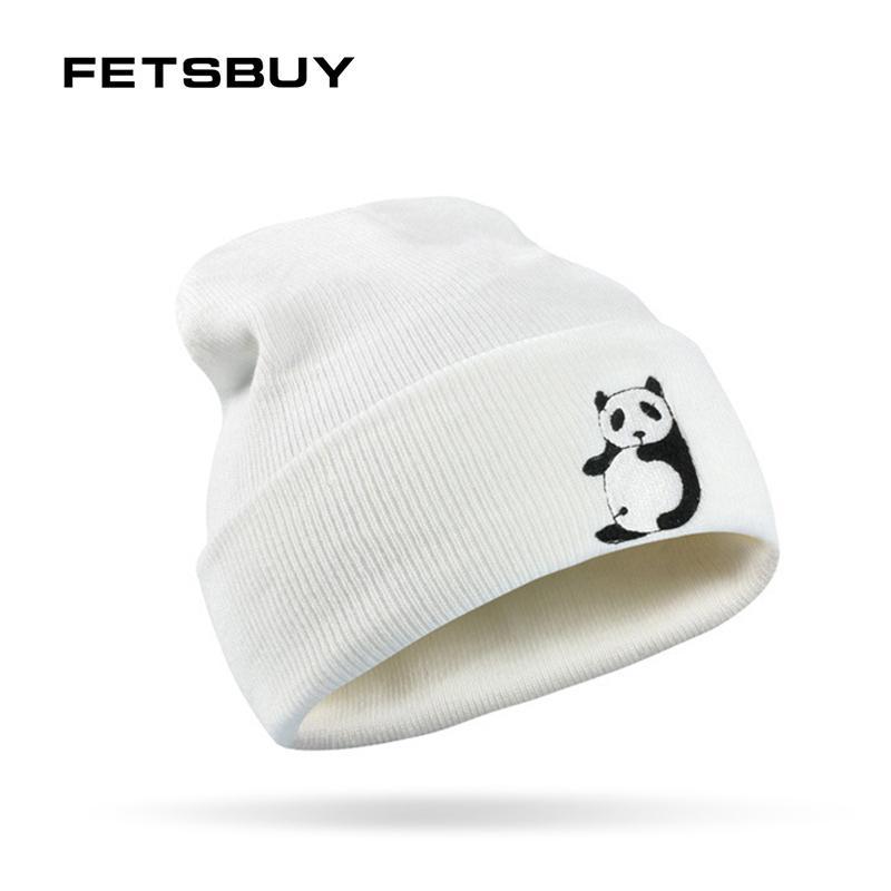 0ebf2c30f25 2019 FETSBUY Brand Winter Hat For Women Men Cartoon Pattern Windproof Warm  Knit Cap Skullies Beanies Mask Female Turban Hats From Miaoshakuai