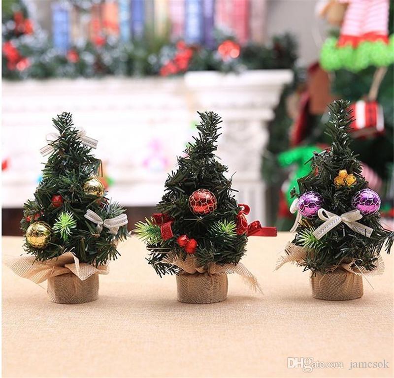 Decorazioni Natalizie Per Ufficio.Buon Albero Di Natale Camera Da Letto Decorazione Scrivania Giocattolo Bambola Regalo Ufficio Casa Bambini Natale Ingrosso Decorazioni Natalizie Per