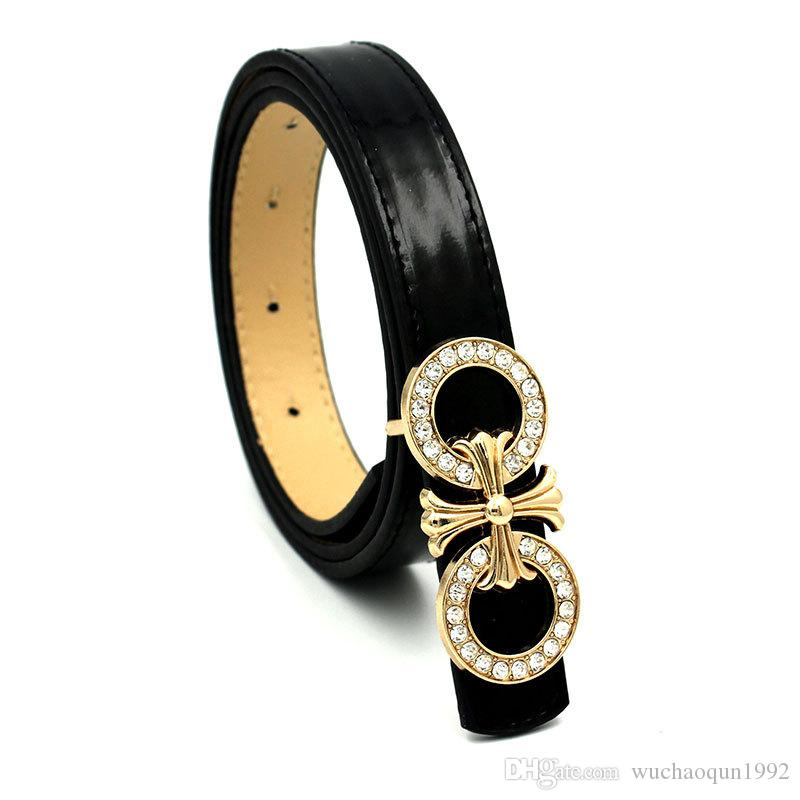 2018 hot selling New Arrival Korea Style High Quality Hot Sell Fashion Designer Brand Imitation Leather Belt for Male Female