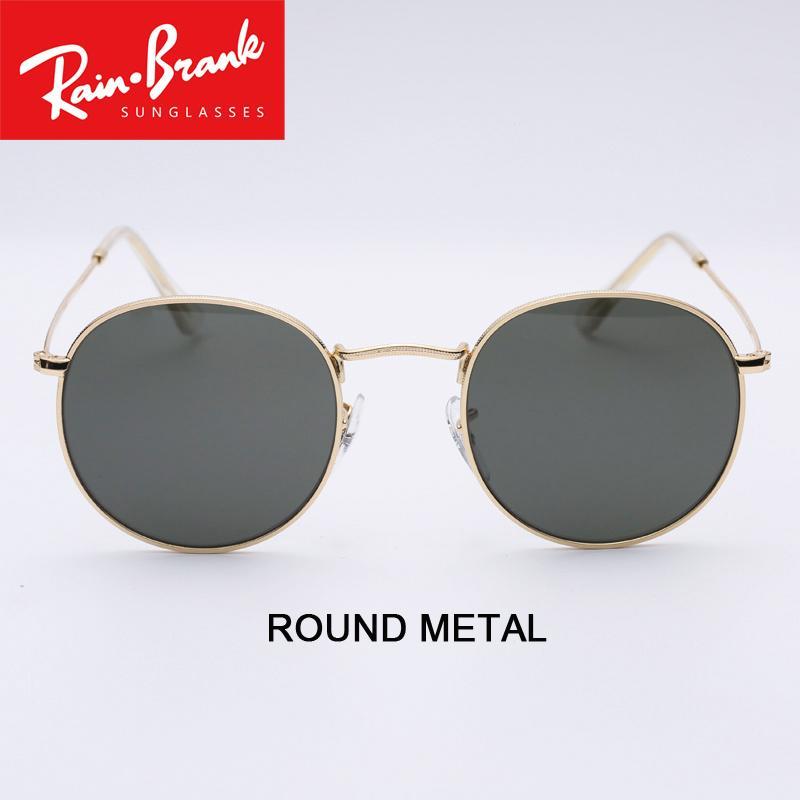 Compre Óculos De Sol De Metal Redondo Design Para As Mulheres Homem UV400  Óculos De Sol Lentes Modelo 3447 Para O Sexo Feminino Feminino Shades Culos  De Sol ... e50f59bcdc