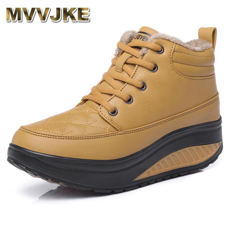 Großhandel 2019 Mvvjke Schuhe Winter Frauen Stiefel Plattform Stiefeletten  Keil Plüsch Snow Boots Für Frauen Pelz Mode Schuhe Frau Von Cn22,  32.24  Auf De. 4b24f12197