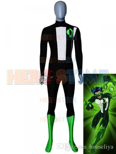 The Original Kyle Rayner Green Lantern Cosplay Costumes Young Justice Green Lantern Custom Zentai Spandex Yj Superhero Bodysuit Halloween Costume Couples ...  sc 1 st  DHgate.com : halloween costumes for young couples  - Germanpascual.Com