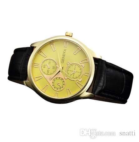 e1dd32eb6f6 Relogio Masculino Clock 3 Eyes DIY Design Mens Watches Top Brand Luxury  Leather Quartz Sports Watches For Men Erkek Kol Saati Wholesale Watches  Fashion ...