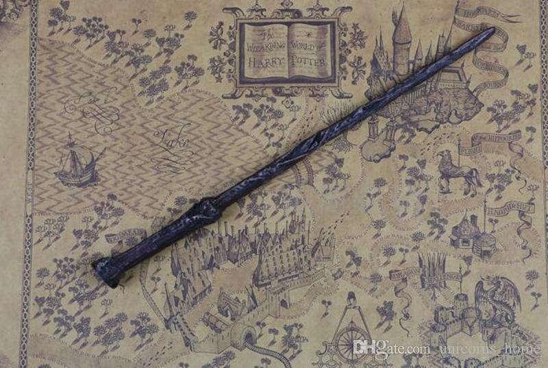 30 Styles Harry Potter Wand Magic Props Hogwarts Harry Potter Series Magic Wand Harry Potter Magical Wand With Gift Box CNY58