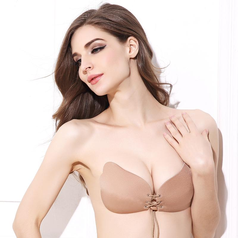 9e7d64ab91 2019 Deruilady Fashion Angel Sexy Bra Seamless Strapless Female Must Push  Up Bra Wire Free Invisible Bra Perfect Silicone From Clothingdh