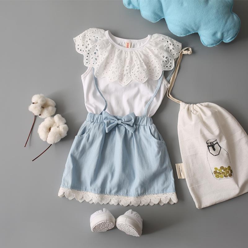 512f11cb7 2017 Children S Garment Korean Dress Girl Sleeveless Split Joint ...