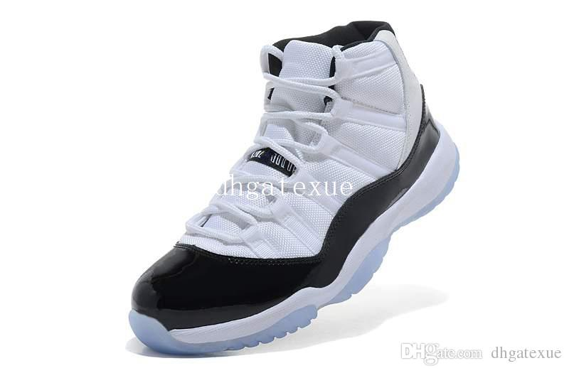 XI Concord 1995 OG Shoes Mens 11s White Black Sneakers Size US 8-13 Come With Box