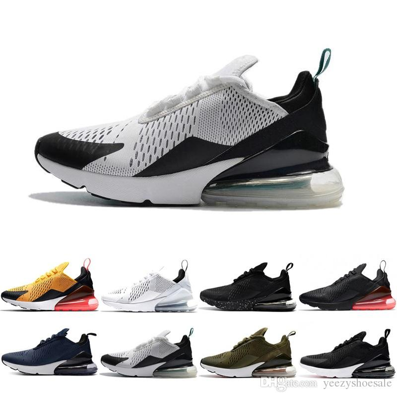 ad5ca9748a128a Best Quality Mens Triple Black 270 AH8050 Trainer AAA+ Fashion Sports  Running Shoes Flair Sneakers Size 36-45 Basketball Shoes Men Shoes Running  Shoes ...