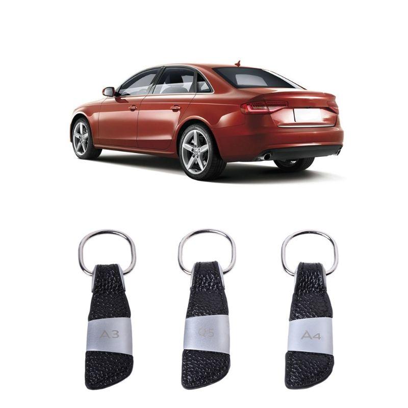 Car Keychain Key Ring For Audi A3 A4 A5 A6 A7 Q3 Q5 Q7 S3 S4 S5 S6