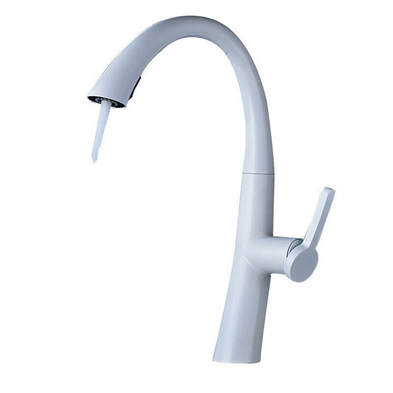2018 Antique Kitchen Faucets Brass Ceramic White Bathroom Faucet ...