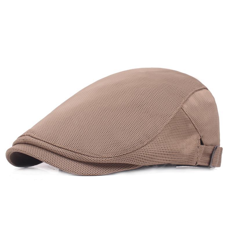 4407b6b1f4d Adjustable Beret Caps for Men Women Spring Summer Outdoor Breathable ...