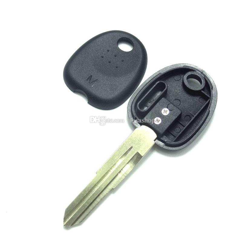 Transponder car Key Shell Case Cover fit for Hyundai Tucson Accent Getz Matri Key Fob Uncut blade