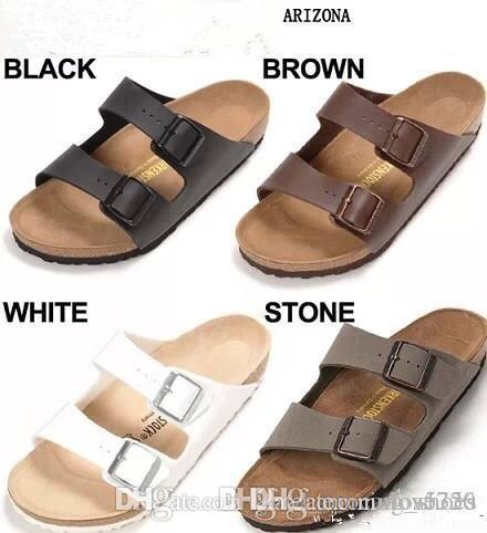 6786bfe6b63 Arizona Mayari Summer Men Women Flats Sandals Cork Slippers Unisex Casual  Shoes Print Mixed Colors Flip Flop Open Toed Sandals Cork Slippers Shoe Sale  Suede ...