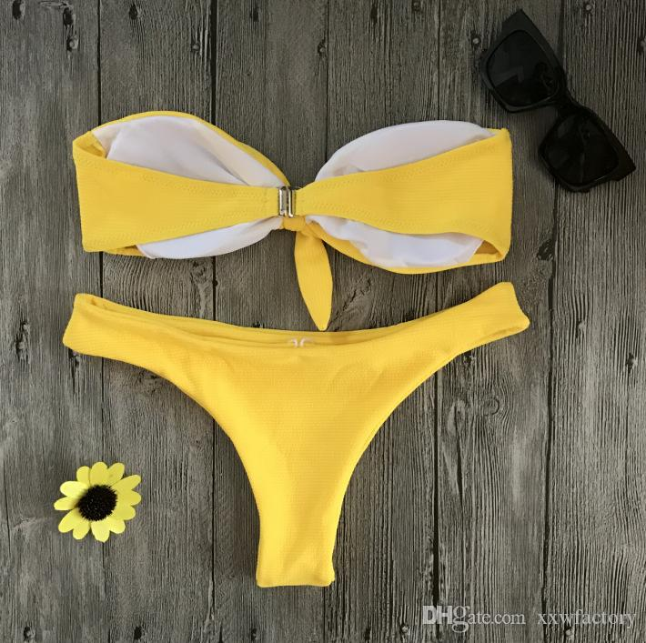 bowknot Bikini Set Femmes Enfants Filles Maillots De Bain Maillot De Bain Vêtements De Plage Bowknot Beach Maillot De Bain Maillots De Bain