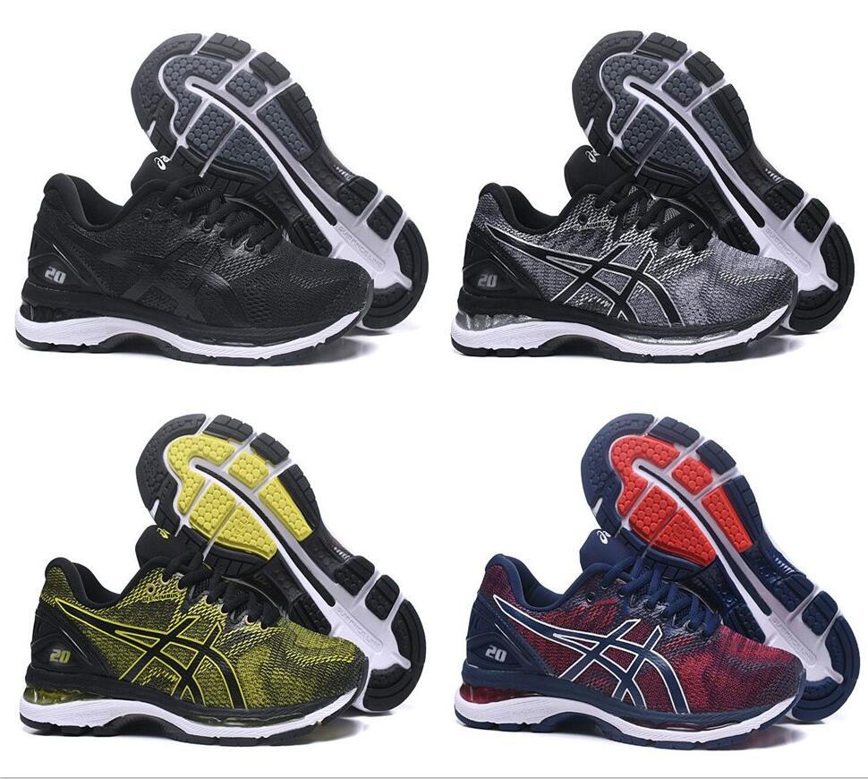 2018 Gel Nimbus 20 Original Running Shoes Black Green Blue Red Men New  Cheap Basketball Shoes Discount Sneakers Kids Tennis Shoes On Sale Boys  Running ... 76a6887b4165e