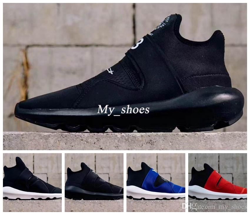 87c644fb4 2019 2018 Yamamoto Y 3 Suberou QASA RACER High Sneakers Breathable Men And  Women Running Shoes Couples New Arrival Y3 Outdoor From My shoes