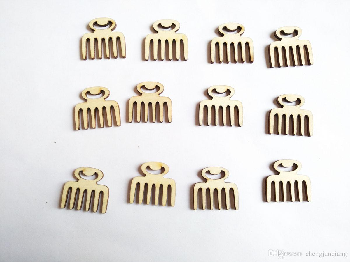 / new arrival wood bead natural comb no hole bead stude can DIY Accessories