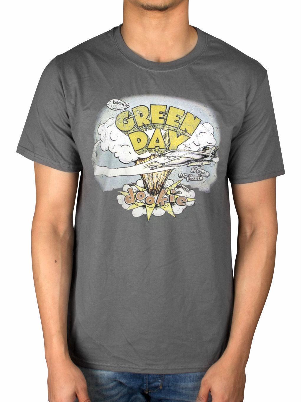 ef0da958272 Compre Camiseta Oficial De Green Day Dookie Vintage Nimrod American Idiot  Insomniac Dooki A $11.37 Del Yuxin005 | DHgate.Com