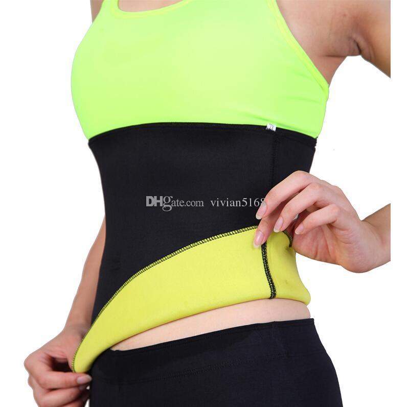 bd50aeeeb3 2019 Women Shaper Neoprene Abdominal Slimming Belt Sweat Sauna Neoprene  Body Shaper Belt Hot Shapers Waist Trainer Corset From Vivian5168