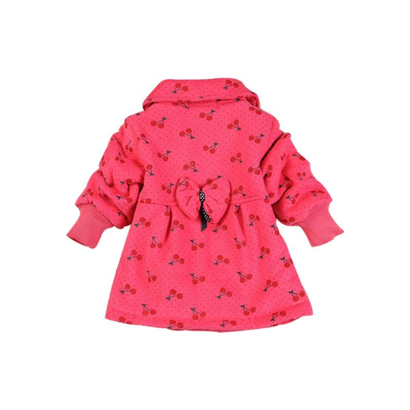 In stock! 2017 Fashion Children's coats girls Hello Kitty winter warm coat children cotton jacket thick cotton-padded clothes