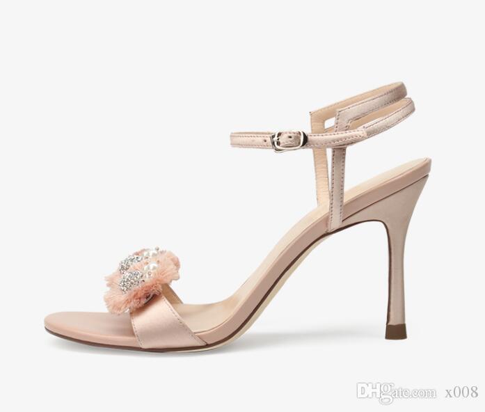 dda6d96e1dc 2015 New Silver Gold Wedding Bride Shoes Bohemian Shiny Beaded Sandals  8.5CM Sexy Women Low Heeled Wedge Sandals Wedge Shoes Womens Sandals From  X008