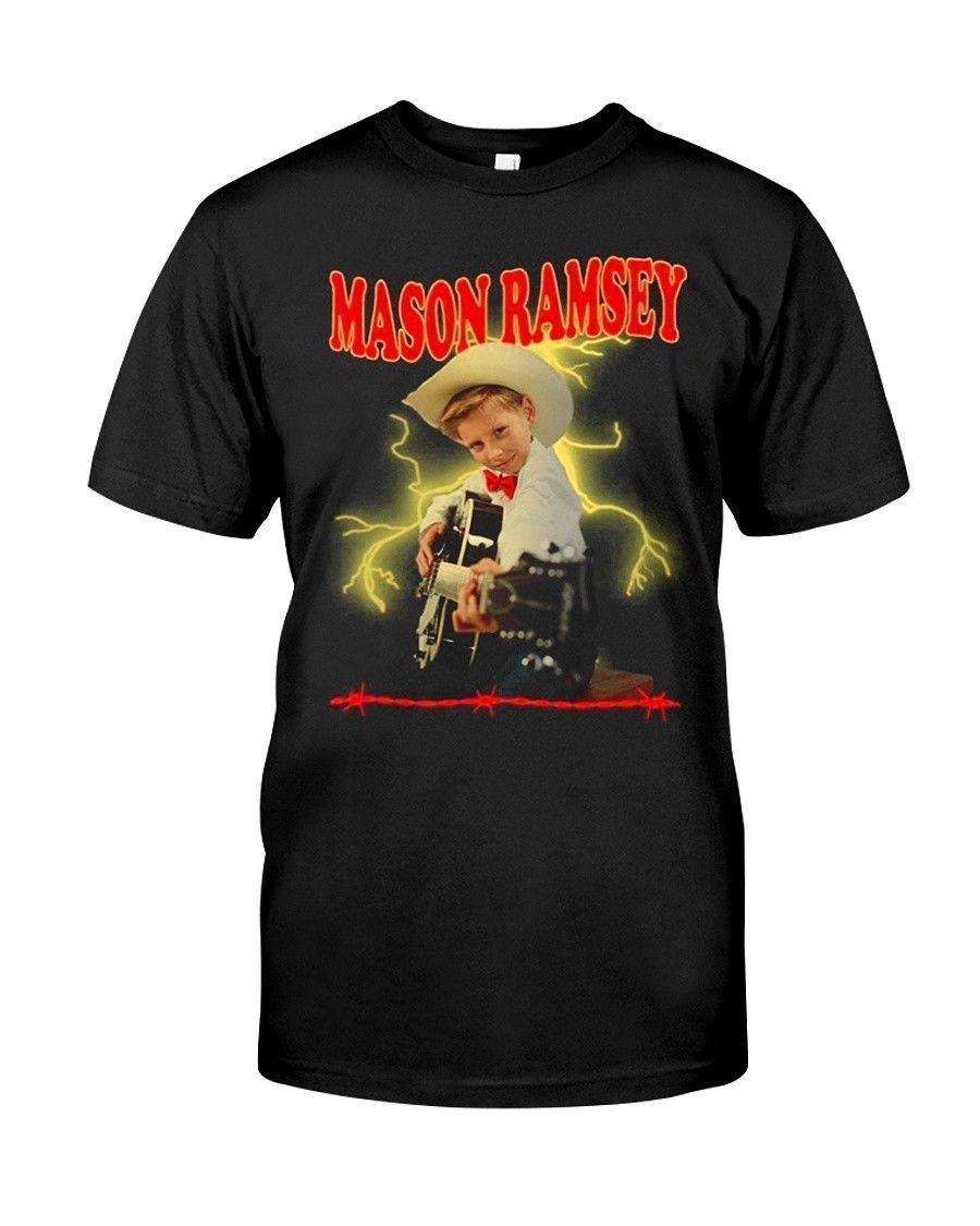 check out a1820 4b2d2 Mason Ramsey Shirt Size S to 4XL 2018 High quality Brand Men T shirt Casual  Short sleeve