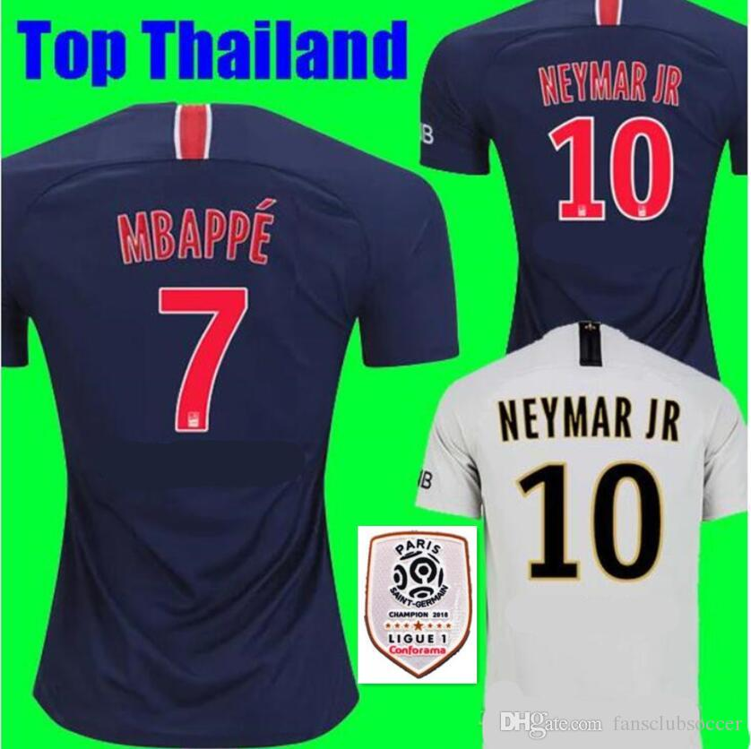 2019 2018 2019 MBAPPE PARIS NEYMAR JR DI MARIA SOCCER JERSEYS 18 19  VERRATTI MATUIDI CAVANI ZLATAN MAILLOT DE FOOT CAMISA FOOTBALL SHIRTS From  ... 0fcbd7754