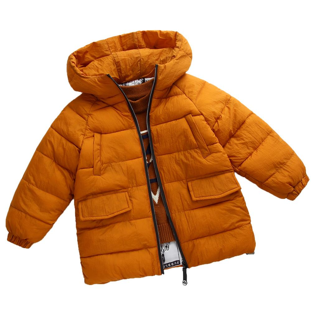 f649c991e Fashion Kids Coat Boys Girls Thick Coat Padded Winter Jacket Clothes ...